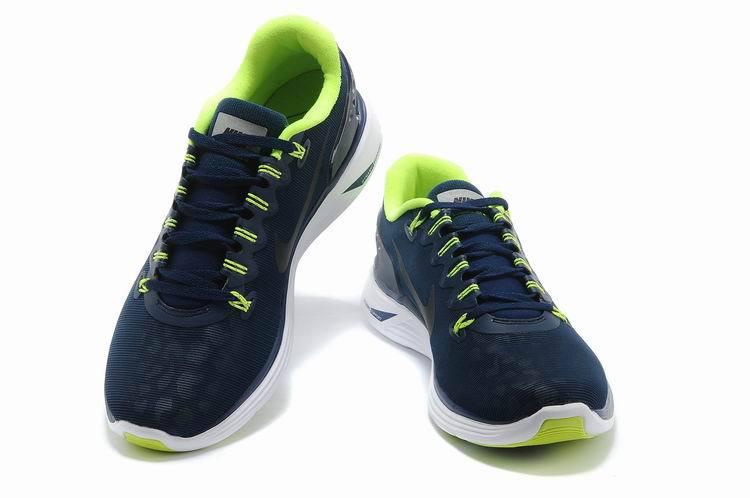 competitive price 40139 9f103 2013 lunarglide 5 hommes nike concepteur promotion la mode bleu vert