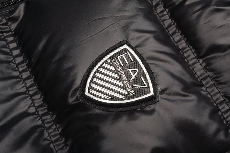 2013 sans manches veste armani hommes e7 entreprise coton pas cher populaire  noir 18a82802676