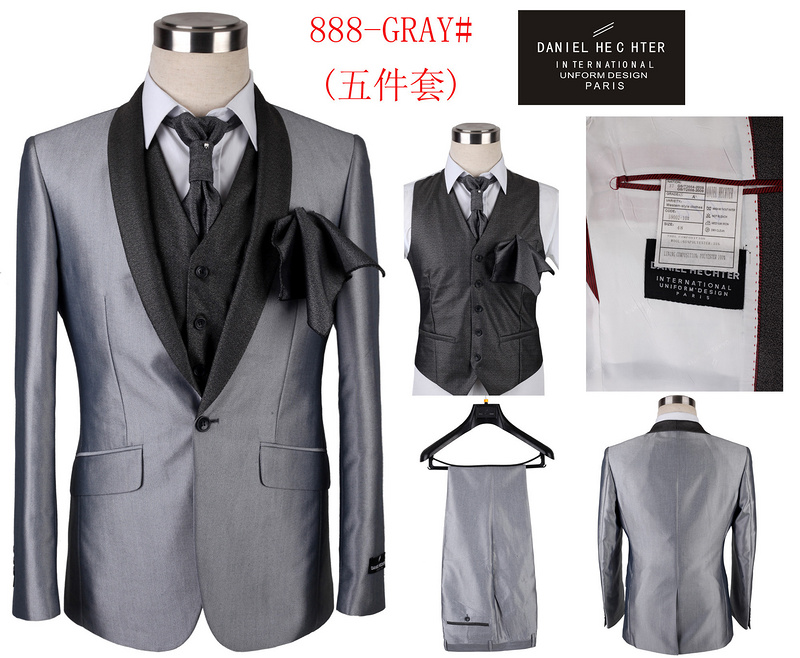 2014 daniel hechter collection costume pour homme styles discount 00012  argent afb57693e04