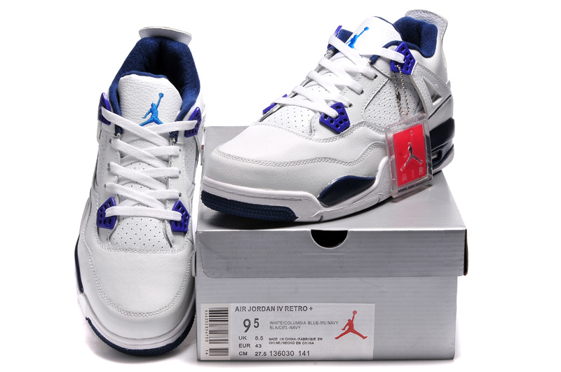 Air Jordan 7 (VII) Retro Bleu/Blanc en vente