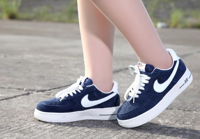 ... Nike air Force 1 Retro femme hommes loisir Sale Galaxy Shoes Online  Bleu wa 0ad8c564709b