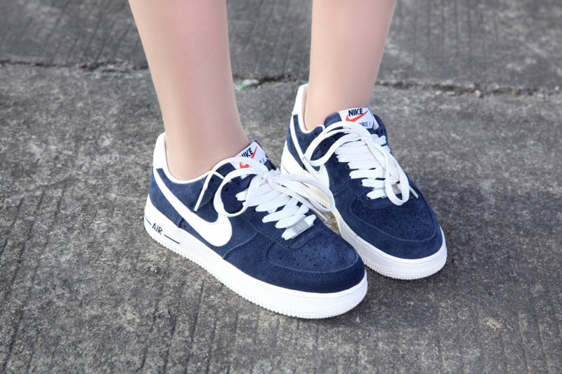 nike air force one bleu marine femme