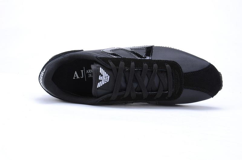 0db94f4c2c2 armani jeans aj nouvelles chaussures casual bleu chers noir de ...