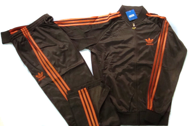 survetement homme adidas orange