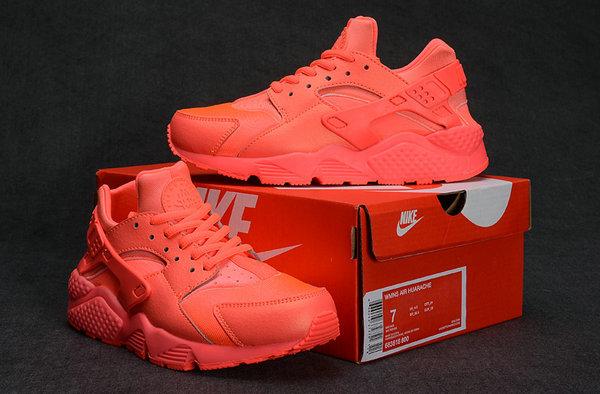 air huarache run femmes running nike chaussures fille rouge
