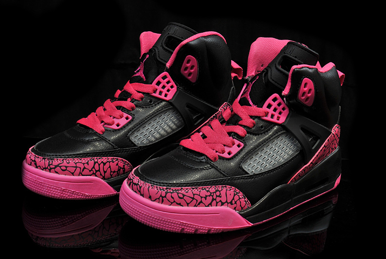 reputable site 2b4b5 5e339 air jordan 3.5 femmes basket ball chaussures explosion modeles taille 36-40  noir rose