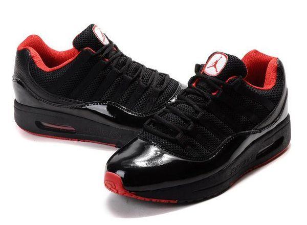 ffdbcc35dd8 air jordan comfort max 11 black red 04 de <Air Jordan Comfort Max 11 ...