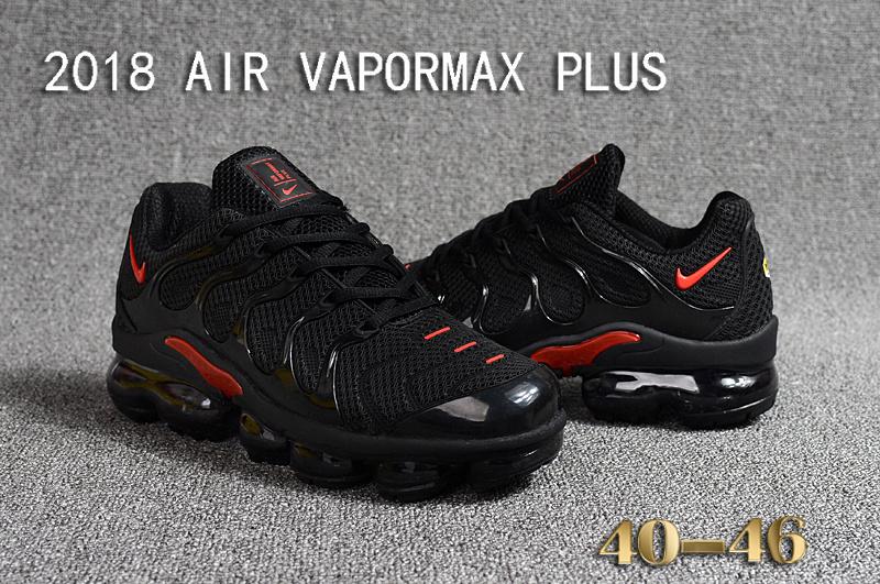 promo code 544a7 7ee3e air vapormax plus triple nike black red