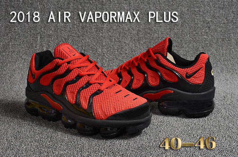 promo code 3d995 68997 air vapormax plus triple nike red black