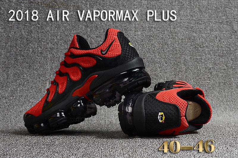 promo code e75c2 97784 air vapormax plus triple nike red black