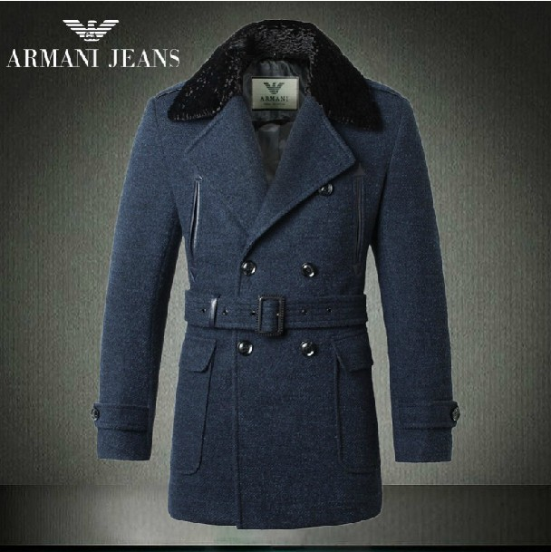 Manteau armani homme pas cher