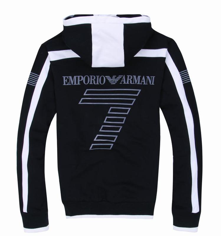armani survetement e7 hommes etoile sportswear vente blanc noir de eur 58. Black Bedroom Furniture Sets. Home Design Ideas