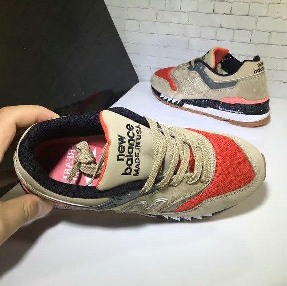 3df350a32d10f beams x chaussures new New balance running m997 Marron shark de New new  e8a604