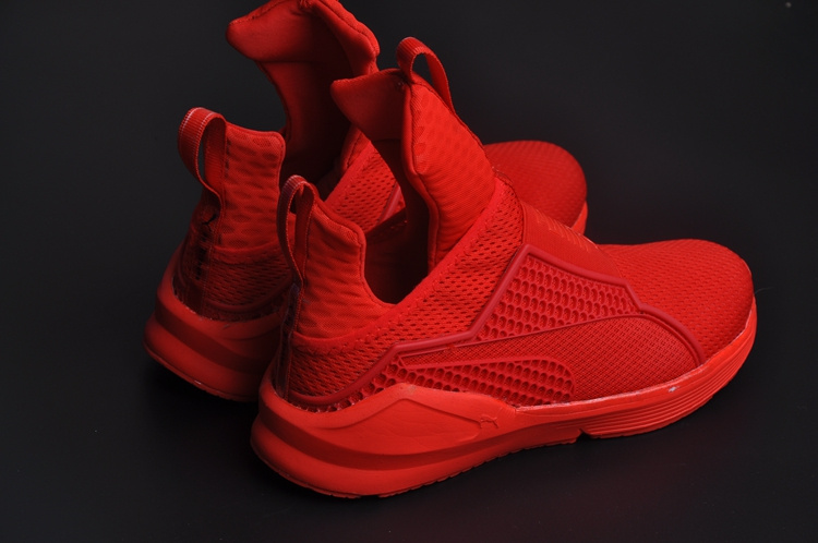 huge selection of 85f77 5153c baskets puma rihanna fenty trainer life style red