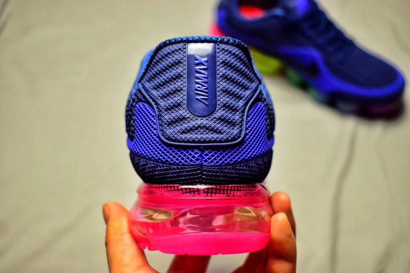 premium selection 9a308 44a82 baskets basses femmes nike Performance air vapormax couleur bleu fonce