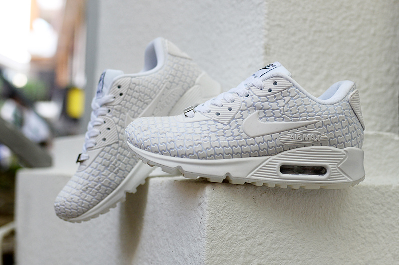 sneakers for cheap b3f92 60c1c baskets wmns air max 90 jcrd leather goddess blance
