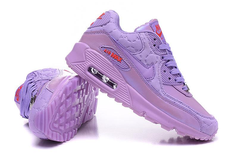 buy online a31ec ea633 baskets wmns air max 90 jcrd leather macaron violette