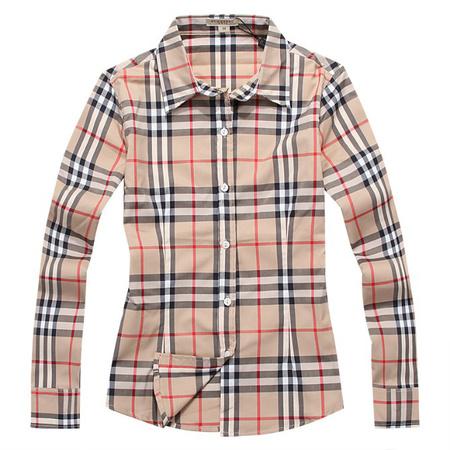 chemise en coton tendance burberry femmes en london acheter bby073 de eur 29. Black Bedroom Furniture Sets. Home Design Ideas