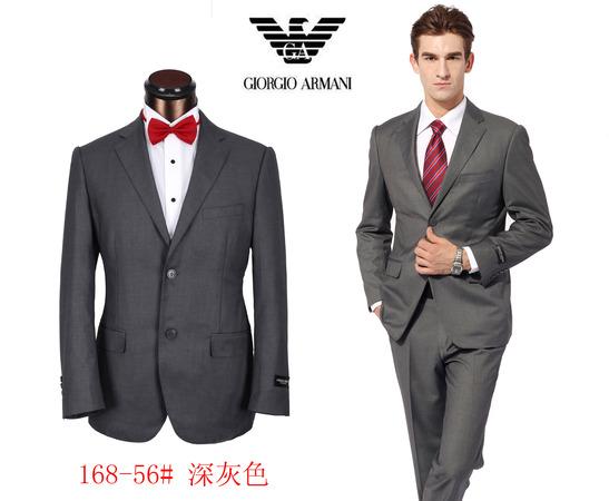 93248938c75 costume armani pour man gris fonce