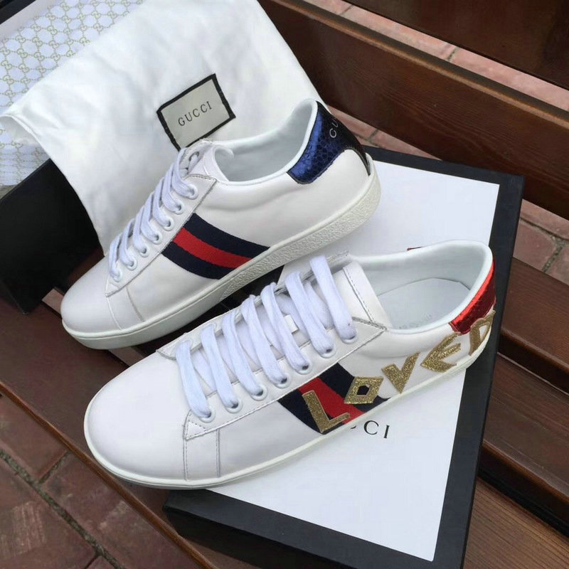 60d0bcf265 gucci sneakers chaussures femmes taille 36-44 love de <GUCCI ...
