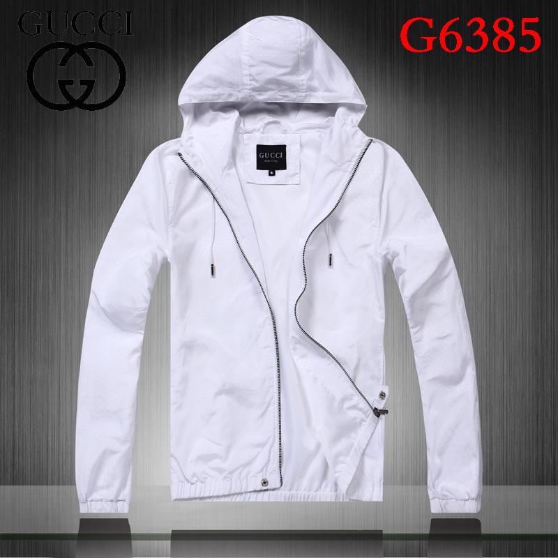 Veste blanche coton homme