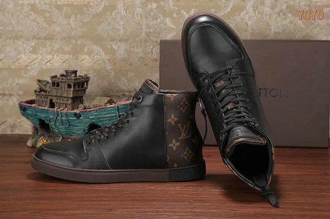 louis vuitton hommes damier chaussures de sport big flower back