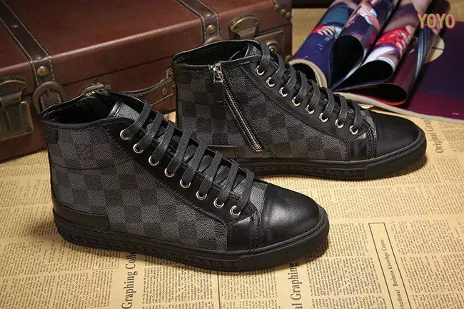 louis vuitton hommes damier chaussures de sport echiquier. Black Bedroom Furniture Sets. Home Design Ideas