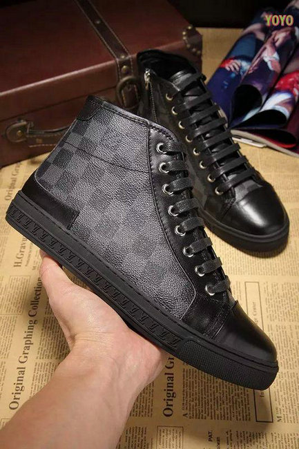 louis vuitton hommes damier chaussures de sport echiquier,plaid zipper