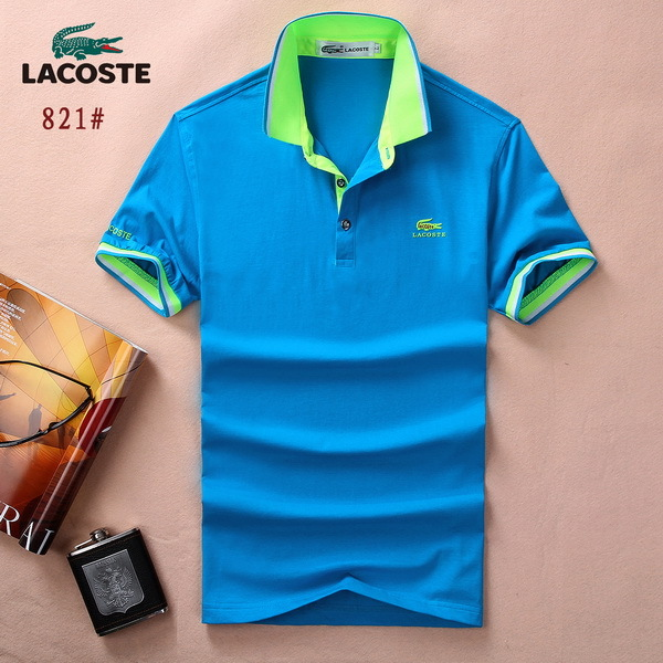 Lacoste polo tee shirt nouveau coton mercerise 3d logo for Discount lacoste mens polo shirts