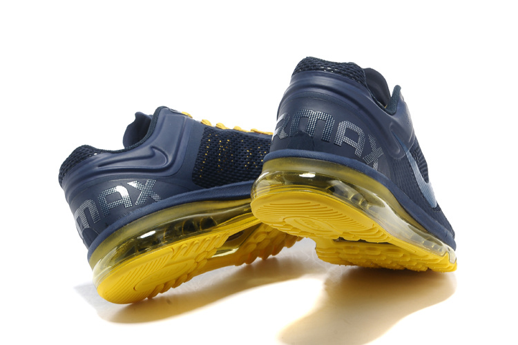 nike air max 2013 blue and yellow