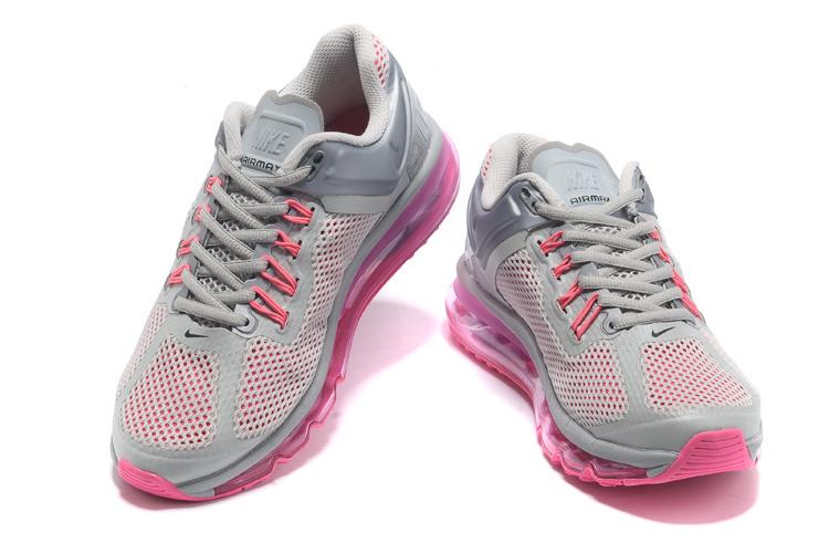 ... nike air max 2013 gray and pink ...