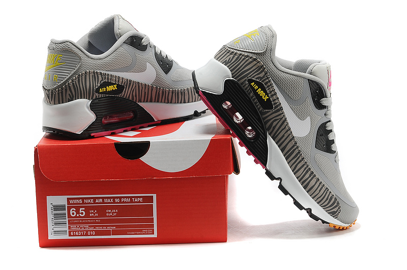 new concept 7bf9f 3e10d new air max 90 nike prem tape femmes les sportifs italiens bon marche et  loisirs gris