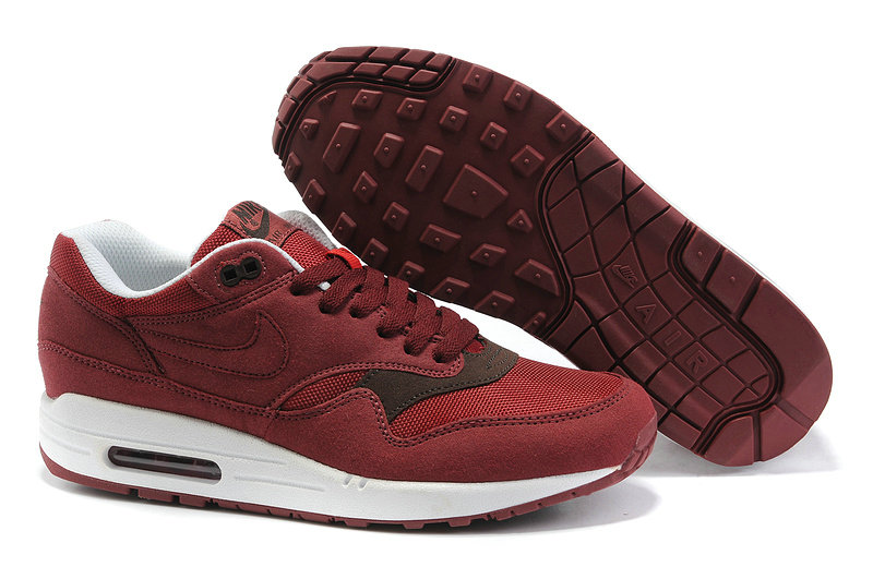 new style 36f4f c74ff nike air max 1 bordeaux homme