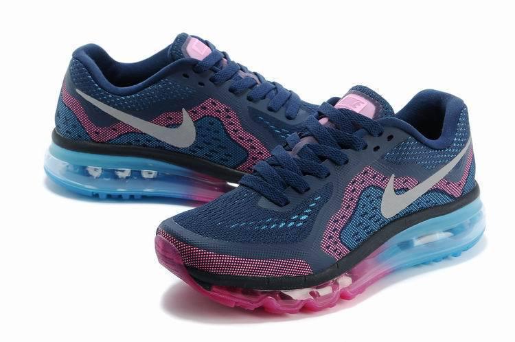prix des chaussures nike air max - Nike AIR MAX 2013 femmes treillis rabais nouvelles tendances Pourpre Bleu Noir(3).jpg