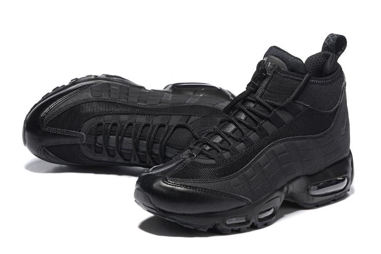 nouveau produit f0ed1 5db0d nike air max 95 hommes sneakerboot mc sp black edition
