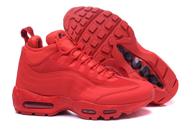 taille 40 2e672 7ac4a nike air max 95 hommes sneakerboot mc sp flag red