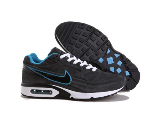 8fd4719fcd2 nike air max classic bw hommes chaussures jogging pas cher 0296 gris blanc