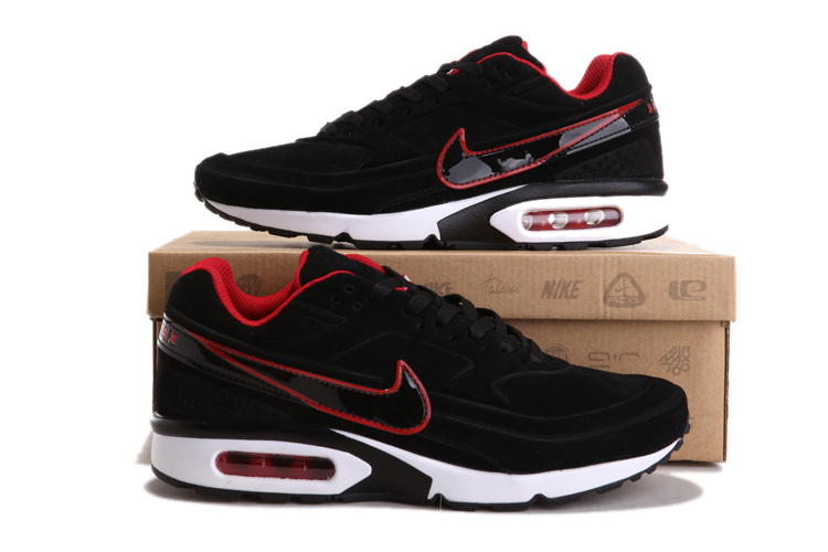finest selection 4b0bc 2be5e ... Nike Air Max Classic BW men Chaussures Jogging pas cher 0296 Noir