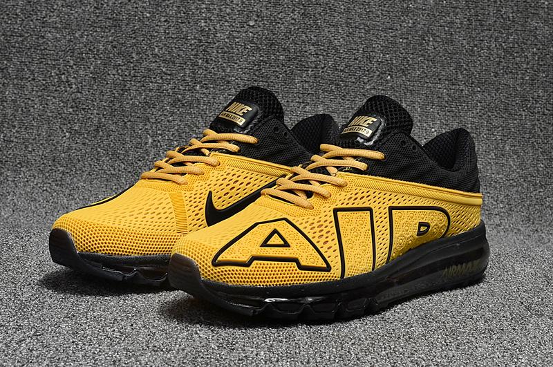sports shoes 3106f 43e8d nike air max flair disu grande lettre or