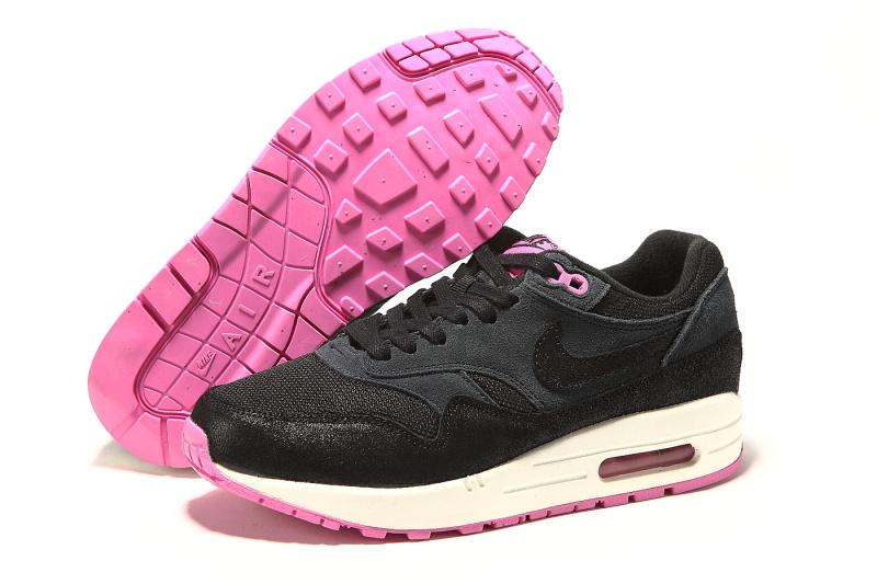 meilleur service 92a06 b5388 nike air max femmes bw trainers carbone noir gris rose