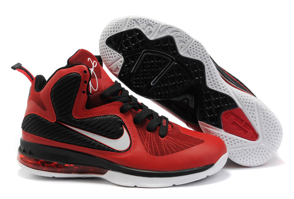 size 40 fc3f5 7c748 nike basketball lebron james 9 noir chaussures red white,nike air max 2013