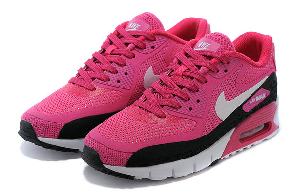 acheter en ligne 95641 ba56e nike wmns air max 90 infrared pas cher lunarlon semelle rose