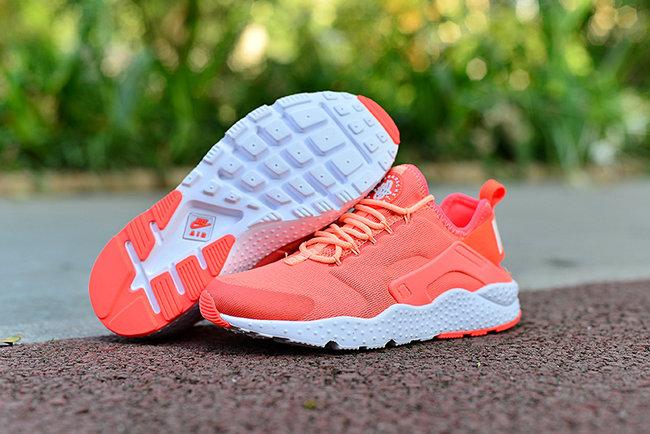 0f66951f91a2 nike chaussures air huarache run ultra prm orange pink de  Nike ...