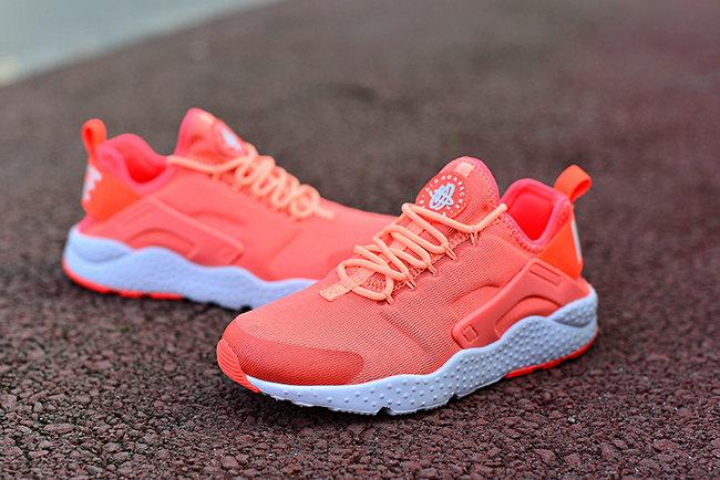 ddf23a906f03 nike chaussures air huarache run ultra prm orange pink