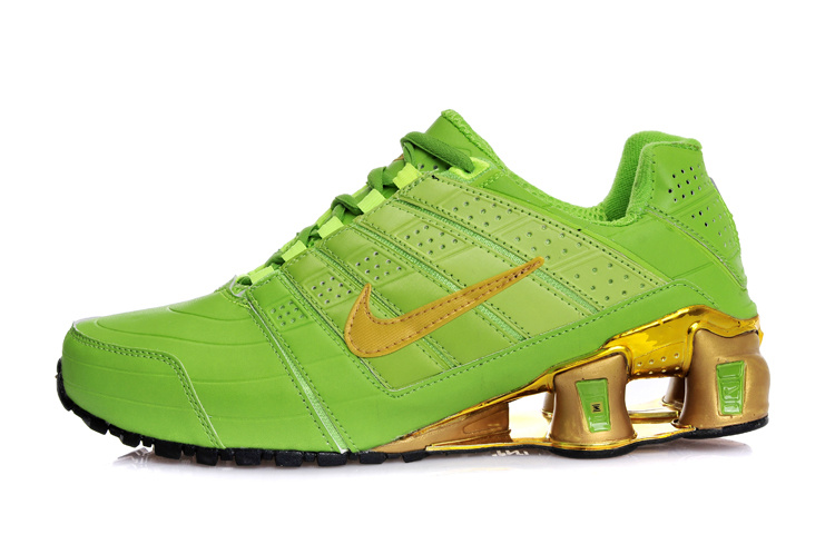 new arrival caad4 35b52 ... Nike shox NZ chaussures casual entreprise placage pas cher Vert