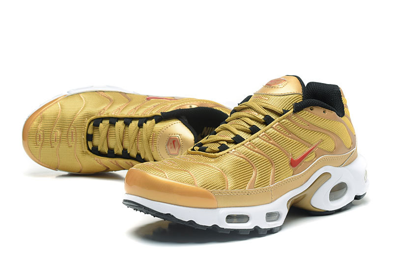 new style 58589 c26d3 nike tn air max plus prm luxury gold