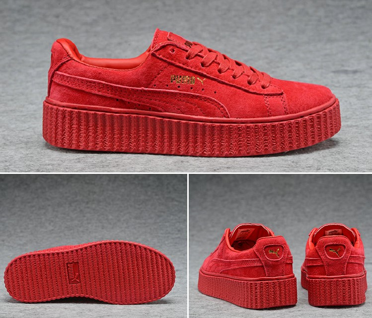 All Et Nouvelle De Sneakers Red Rihanna Chaussures Puma ymYvbf6I7g