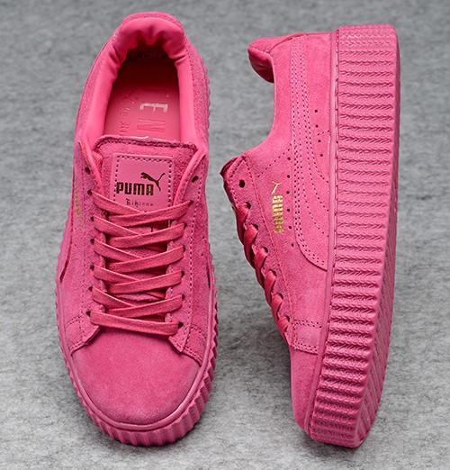 6a658396cc1ec0 Nouvelle Girl Sneakers Et Rihanna Rose De Chaussures Puma Uw1qUr ...