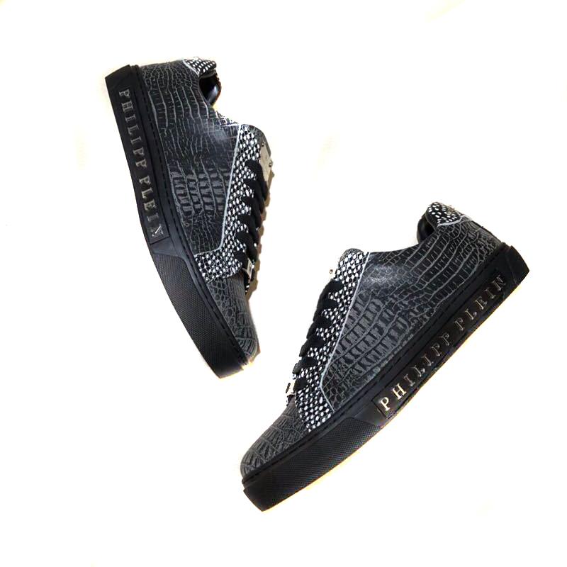 551ee50d554 philipp plein baskets et tennis basses pp leather chaussures de ...