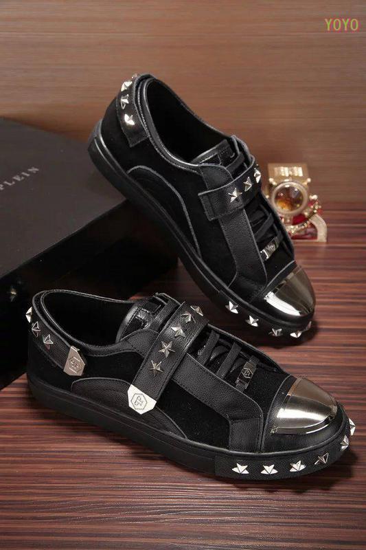 philipp plein pp logo sneaker original rivoli noir de eur 79. Black Bedroom Furniture Sets. Home Design Ideas